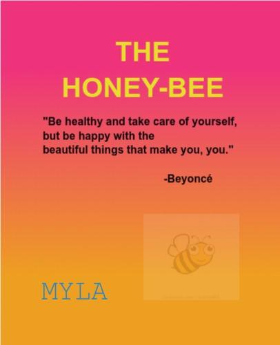 honeybee 4 myla 11 x 14 Custom Canvas Print XPress