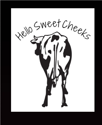 holy sweet cheeks 11 x 14 Custom Canvas Print XPress
