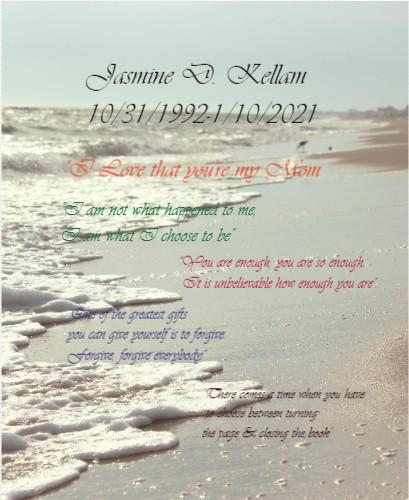 Jasmine 16 x 20 Custom Canvas Print XPress