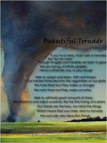 Beautiful Tornado Canvas Print 12x16