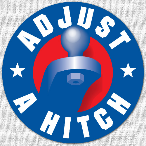 Adjust A Hitch Canvas Print 24x24