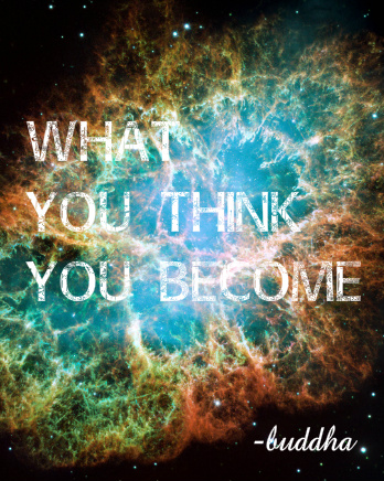 What You Think You Become Canvas Print 24x30