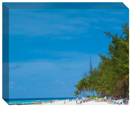 Beachfront Canvas Print 20x16