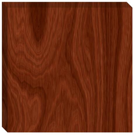 Regular Wood Grain Canvas Print 24x24
