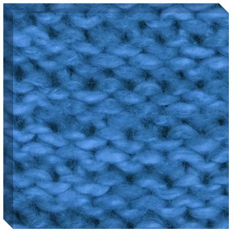 Knit Wool Yarn Canvas Print 24x24