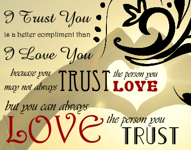 I Trust You Canvas Print 14x11