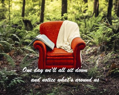 inspirational chair canvas Canvas Print 20x16