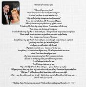 Jack and Vicki's Wedding Day Canvas Print 24x24
