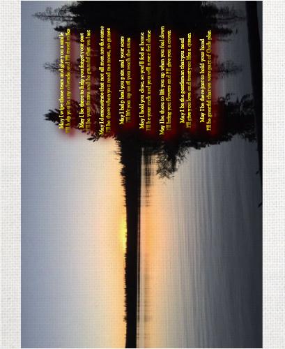 11 x 14 Custom Canvas Print XPress  #53626